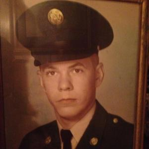 My dad before he was my dad. Back in his army days. Love you Daddy!